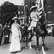 Suffragettes, 1913 Art Print