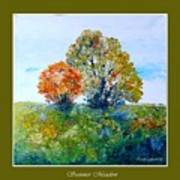 Summer Meadow Art Print by Carola Ann-Margret Forsberg