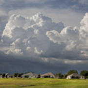 Summer Storm In Florida Art Print