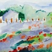 Summer View Art Print