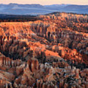 Sunrise In Bryce Canyon Art Print