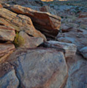 Sunset Comes To Valley Of Fire Art Print