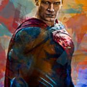 Superhero.superman. Art Print