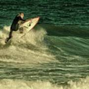 Surfing - Jersey Shore Art Print