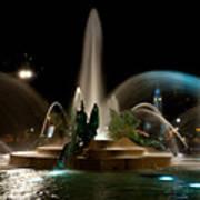 Swann Memorial Fountain Art Print by Louis Dallara