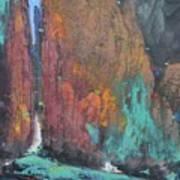 Tai Hang .a Gleam Of Sky Art Print