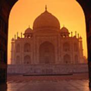 Taj Mahal View Art Print
