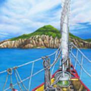 Take Me To Saba Art Print