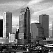 Tampa The Downtown Art Print