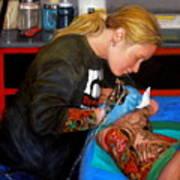 Tattoo 1 Art Print