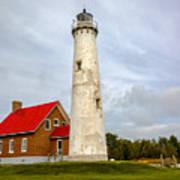 Tawas Point Lighthouse - Lower Peninsula, Mi Art Print
