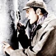 The Adventures Of Sherlock Holmes Art Print by Everett