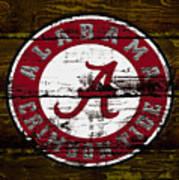 The Alabama Crimson Tide Art Print