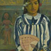 The Ancestors Of Tehamana Art Print