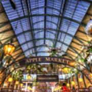 The Apple Market Covent Garden London Art Print