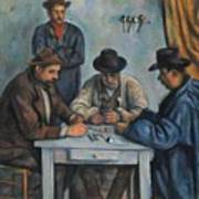 The Card Players Art Print