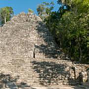 The Church At Grupo Coba At The Coba Ruins  Art Print