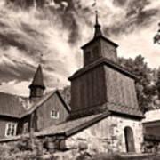 The Church Of Fagervik Art Print