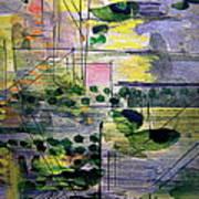 The City 2 Art Print