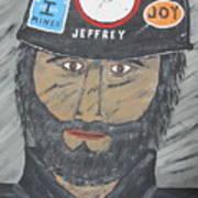 The Coal Man Art Print