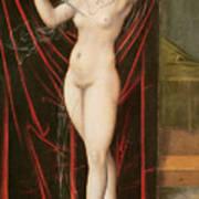 The Death Of Lucretia Art Print