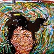 The Drowning Artist Art Print