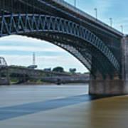 The Eads Bridge Art Print
