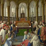 The Exhumation Of Saint Hubert Art Print