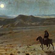 The Flight Into Egypt Art Print