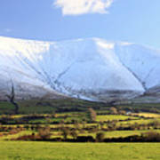 The Galtees  Ireland's Tallest Inland Mountains Art Print