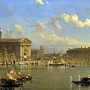 The Giudecca. Venice  Art Print