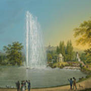 The Great Fountain Art Print