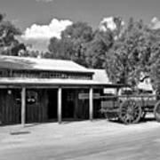 The Heritage Town Of Echuca Victoria Australia Art Print by Kaye Menner