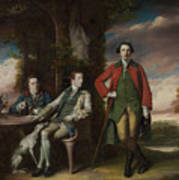 The Honorable Henry Fane With Inigo Jones And Charles Blair Art Print