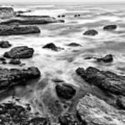 The Jagged Rocks And Cliffs Of Montana De Oro State Park Art Print