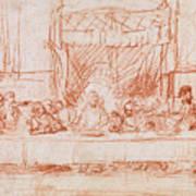 The Last Supper, After Leonardo Da Vinci Art Print