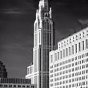 The Leveque Tower Of Columbus Ohio Art Print