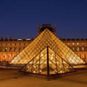 The Louvre Art Museum Art Print