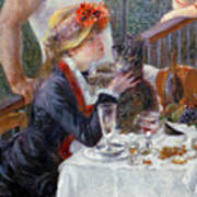 The Luncheon Of The Boating Party Art Print