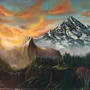 The Majestic Mountain Art Print