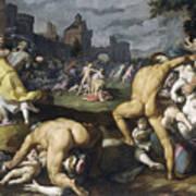 The Massacre Of The Innocents, 1590 Art Print