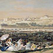 The Meadow Of San Isidro Art Print