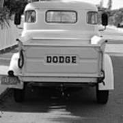 The Old Dodge  Art Print
