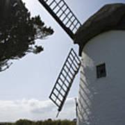 The Old Irish Windmill Art Print