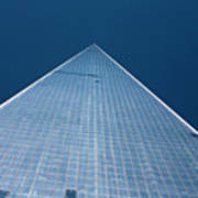 The One World Trade Centre Or Freedom Tower New York City Usa Art Print