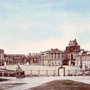 The Palace Of Versailles. C. 1880 Art Print