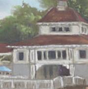 The Pavilion At Lakeside Ohio Art Print