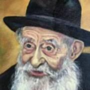 The Rabbi Art Print