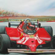 The Racing Car Art Print
