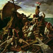 The Raft Of The Medusa Print by Theodore Gericault